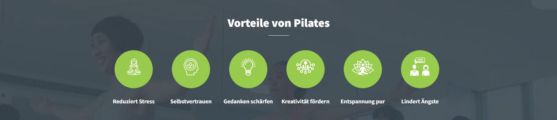 Vorteile von Pilates
